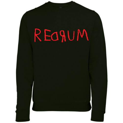 REDRUM MURDER THE SHINING HALLOWEEN WOMENS FANCY DRESS SWEATSHIRT JUMPER