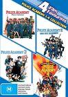 Police Academy / Police Academy II / Police Academy III / Police Academy IV (DVD, 2012, 4-Disc Set)