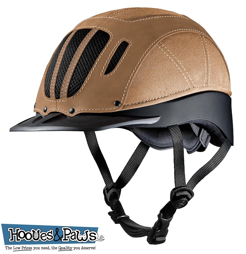 Troxel Sierra Tan Vented Safety Horse Western Western Western Niedrig Profile Riding Helmet Medium 7b218f