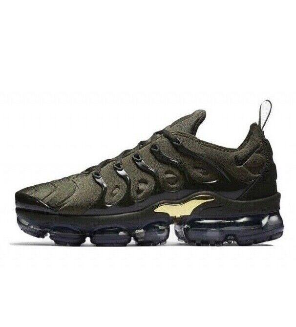 c59ce7aef8 Nike Air VaporMax Plus Khaki gold 924453-300 Receipt Size 6-14 Cargo w  ntyjgt157-Athletic Shoes