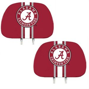 Alabama-Crimson-Tide-2-Pack-Color-Print-Auto-Car-Truck-Headrest-Covers