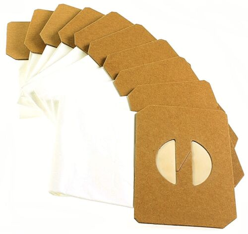 Pack of 10 Commercial Vacuum Cleaner Paper Dust Bags For AS300 U1500XP Cleaners