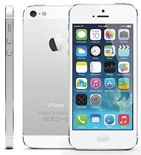 Smartphone Apple iPhone 5 - 16 Go - Blanc Argenté - Téléphone Portable Débloqué