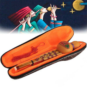 Chinese-Hulusi-Gourd-Cucurbit-Flute-C-Bb-Key-Yunnan-Ethnic-Music-Instrument-Gift