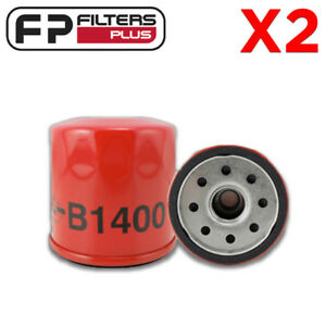 2-x-B1400-USA-MADE-Oil-Filter-Cross-References-Ryco-RMZ119-K-amp-N-KN303