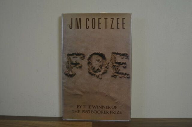 Foe by J. M. Coetzee (Hardback, 1986) Secker & Warburg 1st UK Edition (DV)