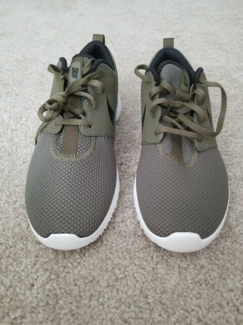 Nike Roshe G Golf Shoes Size 9 5 Aa1837 200 Olive Green Black Spikeless For Sale Online Ebay