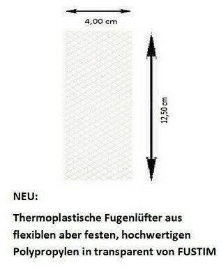 Wespenschutz Nagerschutz 30 Stück Transparent Analytisch Fugenlüfter, Stoßfugenlüfter