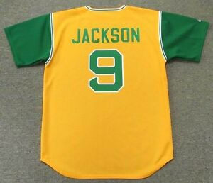 various colors 51e8f ea2bb Details about REGGIE JACKSON Oakland Athletics 1969 Majestic Cooperstown  Baseball Jersey