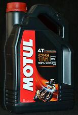 4 Liter Motul 7100 Motorrad Öl  4T Motoröl 10W60 Vollsynthetisch 10W-60 ESTER