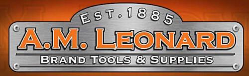 """AM Leonard Pruner Case Leather 8/"""" With Belt Slot #BSC8"""