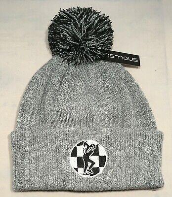 2tone beanie Embroidered ska hat Trojan Beanie hat Beanie rudeboy hat for the SKA HEADS