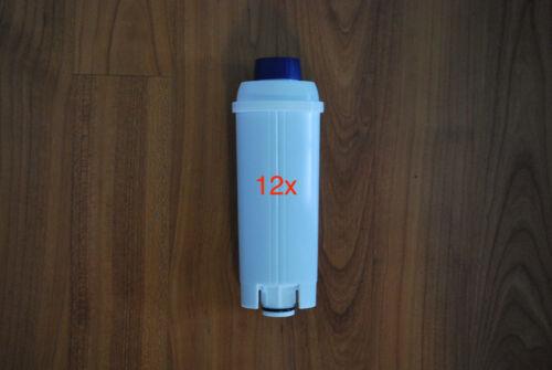 12 Piece EC-820 Delonghi Filter Cartridge Water Filter Filters DLS C002/SER 3017