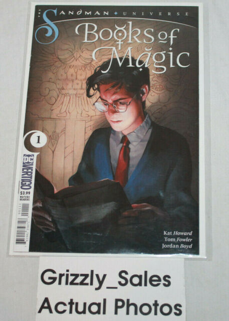 DC Vertigo Books of Magic #1 Comic -CanadianSeller-