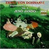 Ernst Von Dohnanyi Piano Works, Vol.2 (CD, Oct-1995, Koch Schwann)