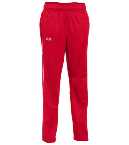 Under Armour Rival knit warm up athletic pants NWT UPICK boys/' S L red