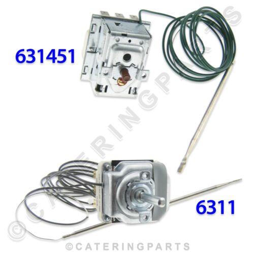 6311 295 ° C haute limite et 206 ° C contrôle Thermostat Friteuse Valentine 631451