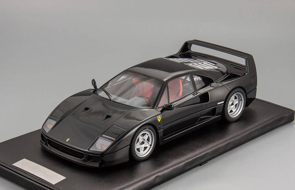 ahorre 60% de descuento Ferrari F40 Resina Negro Negro Negro 1:18 Kyosho PHR1802BK  Todo en alta calidad y bajo precio.