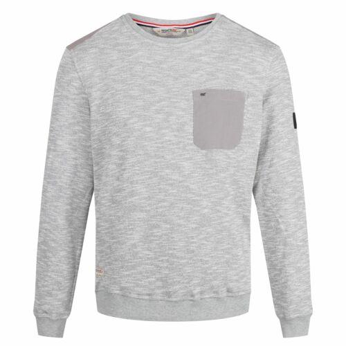 Regatta Mens Sandor Chest Pocket Sweatshirt RG4487