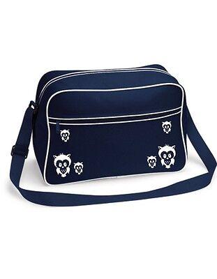 EULCHEN Eule Owl Bruder Tasche Schultertasche Damentasche Handtasche Gesche T39