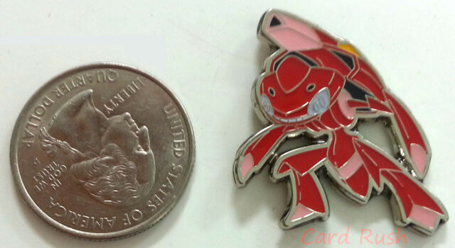 "Pokemon Black & White 1"" Pin XY Genesect Individual Pin"