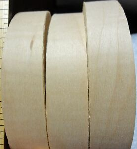 "Maple Curly figured wood veneer edgebanding 7/8"" x 120"" (inches) no adhesive"