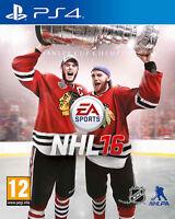 NHL 16 (Hockey) PS4 Playstation 4 IT IMPORT ELECTRONIC ARTS