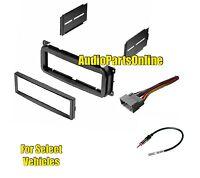 Single Din Car Radio Kit Combo For Select Jeep Liberty Grand Cherokee Wrangler