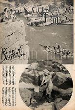 1954, RIVER OF NO RETURN / Marilyn Monroe Japan Vintage Clippings 2es7