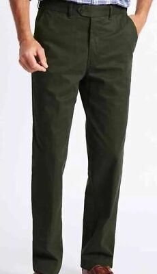 Mens Marks and Spencer M/&S Climate Control Active Waist Chinos Big and Tall