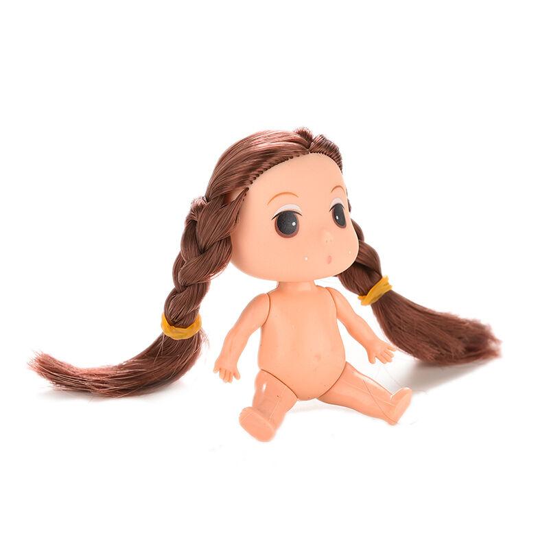 ตุ๊กตาผู้หญิง3นิ้ว น่ารักไซส์มินิสำหรับเป็นของขวัญและใช้ตกแต่งงานประดิษฐ์แบบผมยาว - พร้อมส่งW885 ราคา150บาท