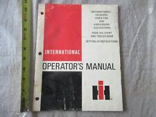 International 133 Series Vibra Tine Amp Vibra Shank Cultivators Operators Manual