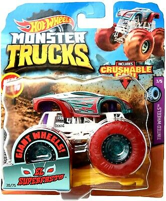 New 2020 Hot Wheels Monster Jam El Superfasto Monster Truck 1 64 Rare Htf Ebay