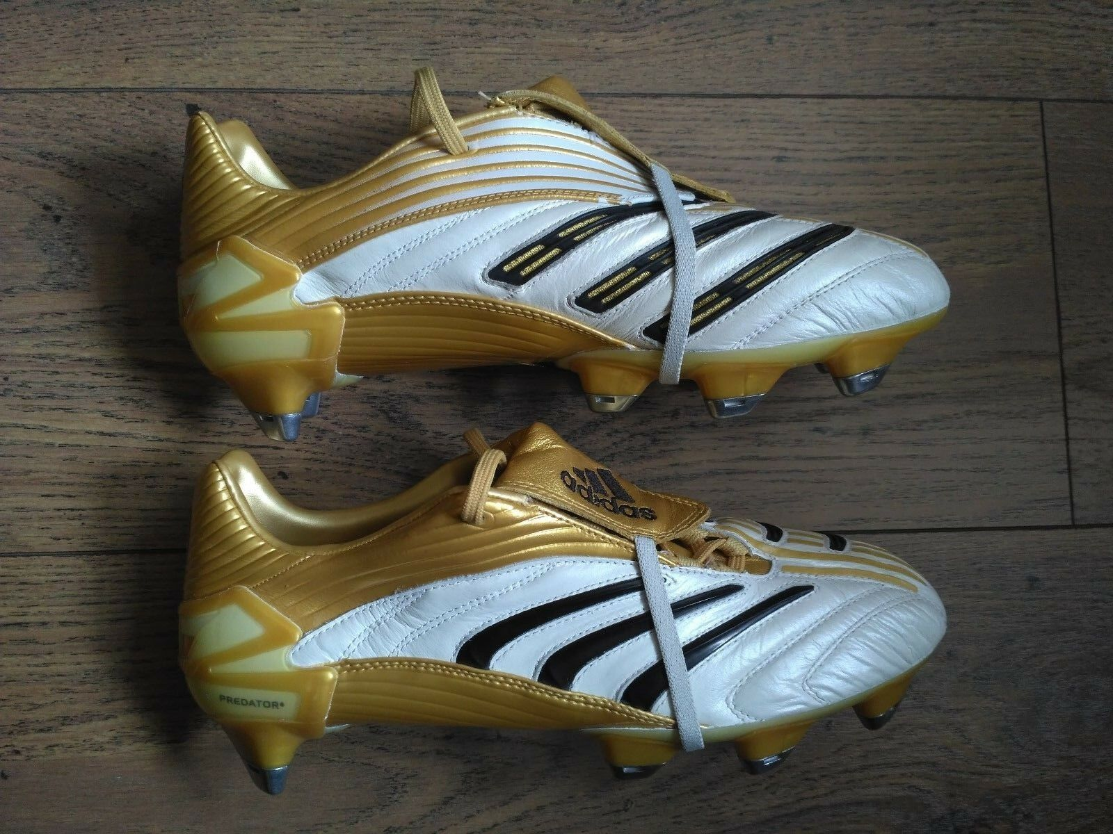 Adidas Prougeator Absolute XTRX SG foot crampons 807840 Taille US8.5 coupe du monde 2006