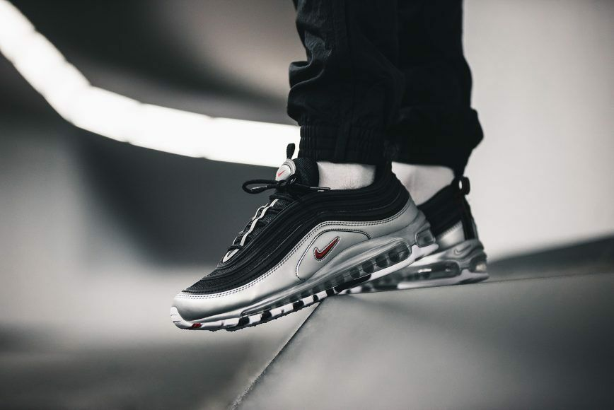 outlet store 3c28a 460f9 Nike Air Max 97 og qs Noir Argent Argent Argent AT5458-001 BRAND NEW UK  Tailles 6 7 8 9 10 11 341e45