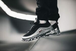 bf550eece NIKE AIR MAX 97 OG QS BLACK SILVER AT5458-001 BRAND NEW UK SIZES 6 7 ...