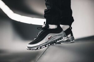 nike air max 97 nere argento