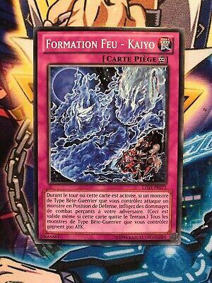 Carte Yu Gi Oh FORMATION FEU KAIYO LTGY-FR075 x 2