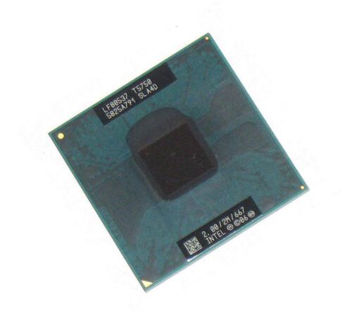 """SLA4D INTEL CPU CORE 2 DUO MOBILE T5750 2.0GHZ//2M//667MHZ /""""GRADE A/"""""""