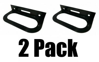 MOUNTING Brackets for 6 Oval Tail Light Powder Coated Trailer RV Optronics The ROP Shop 6