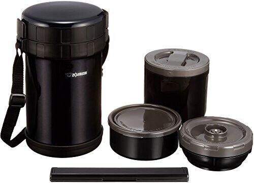 Zojirushi Zojirushi Isolation Thermique Lunch Box bento en acier inoxydable déjeuner Pot