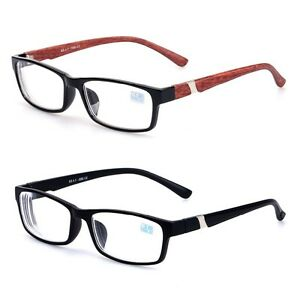 Rimless Distance Glasses : SQUARE FRAME NEARSIGHTED Distance Myopia GLASSES -1.0~2.0 ...