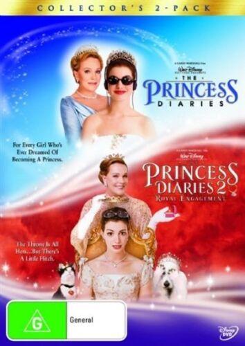 1 of 1 - The Princess Diaries  / Princess Diaries 2 (DVD, 2006, 2-Disc Set)