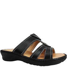 cbd6c0f7393c item 3 Womens Ladies Low Wedge Heel Comfort Cushioned Slip Ons Mules Sandals  Shoes Size -Womens Ladies Low Wedge Heel Comfort Cushioned Slip Ons Mules  ...