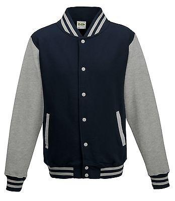Men American Style Varsity Letterman University College Baseball Jacket