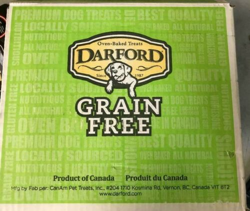 Darford Oven-Baked Treats Grain Free 15lb Box CHOOSE YOUR FLAVOR