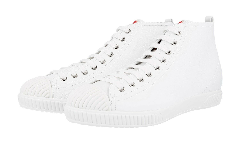shoes PRADA LUSSO 3T5877 BIANCO NUOVE 41 41,5 UK 8