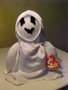 Retired Beanie Babies Sheets the Ghost birth 10/31/1999 Buy 3 BB's & 4th is FREE