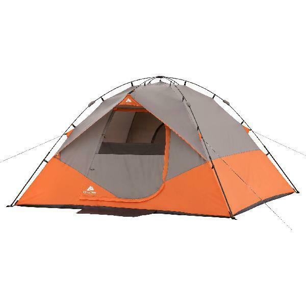 Ozark Trail 12'x 10' Two Room Dome Tent Instant Camping ...