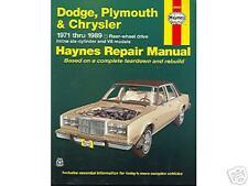 1971 1972 1973 1974 1975 Chargerrt Shop Manual